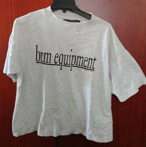 Vintage b.u.m equipment wide sleeve shirt